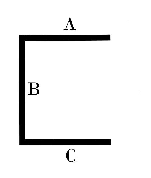 Brass C Channel