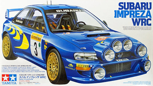 Subaru Impreza WRC '98 Monte-Carlo 1/24