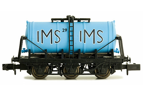 N Gauge 6 Wheel Milk Tanker IMS