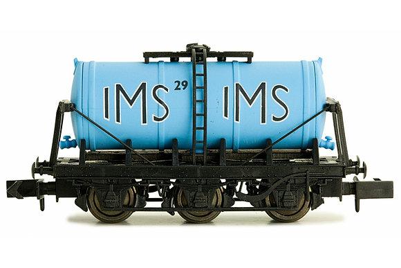 N Gauge 6 Wheel Milk Tanker IMS