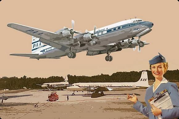 Douglas DC-6, Delta Airlines 1.144