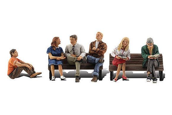 N People Sitting