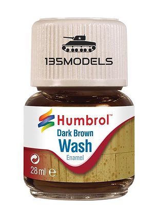 Enamel Wash Dark Brown 28ml