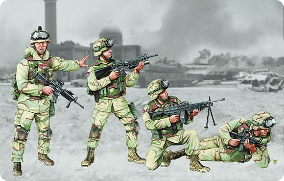 US 101st Airborne Division Crew 1.35
