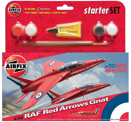 RAF Red Arrows Gnat Starter Set 1/72