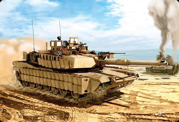 M1A2 Abrams Tank 1/35