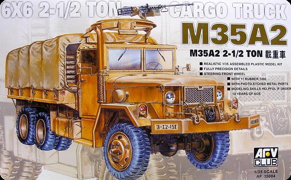 M35A2 2.5 Ton Cargo Truck 1/35