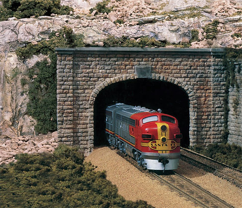 HO (00) Double Track Tunnel