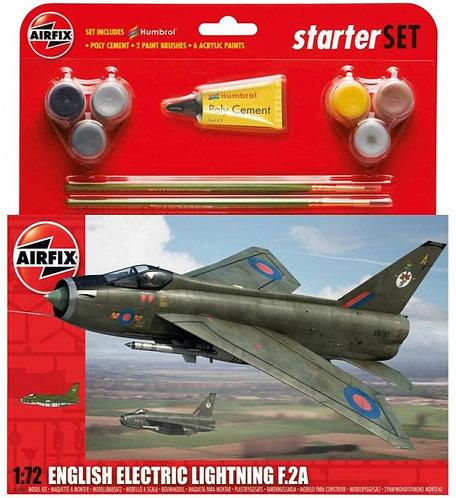 English Electric Lightning F.2A Starter Set 1/72