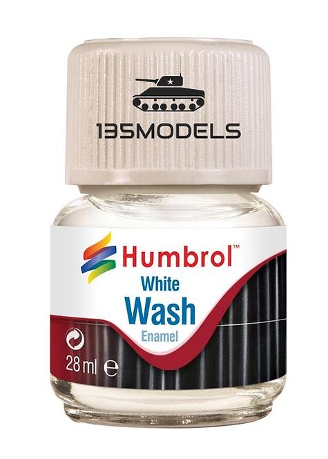 Enamel Wash White 28ml