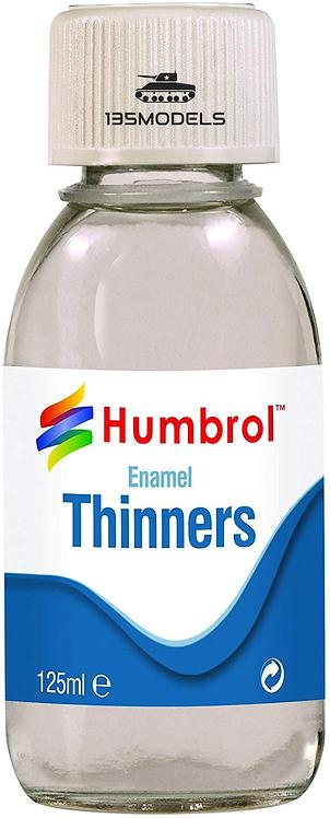Enamel Thinners - 125ml Bottle