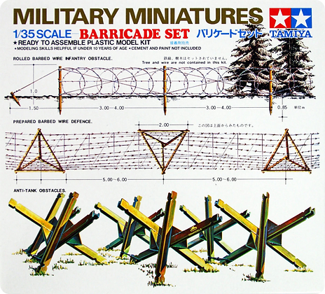 1/35 Military Barricade Set