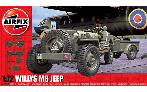 Willys MB Jeep 1/72