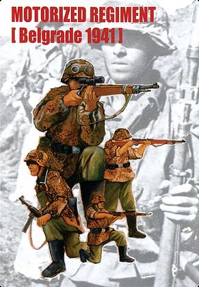 Motorized Regiment Belgrade 1941 1.35