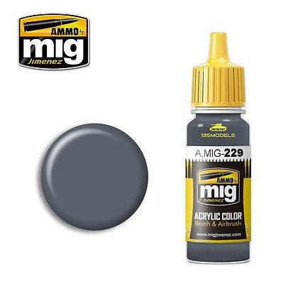 229 Dark Grey Blue