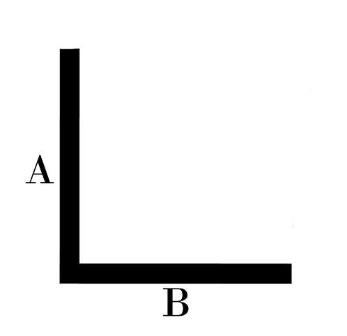 Brass 90° Angle
