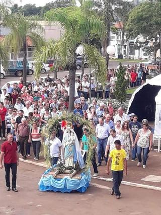 PARÓQUIA NOSSA SENHORA DOS NAVEGANTES FESTEJA SUA PADROEIRA