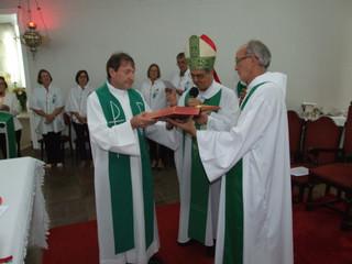Frei Leonel Moisés da Silva assume como pároco na Paróquia de Horizontina