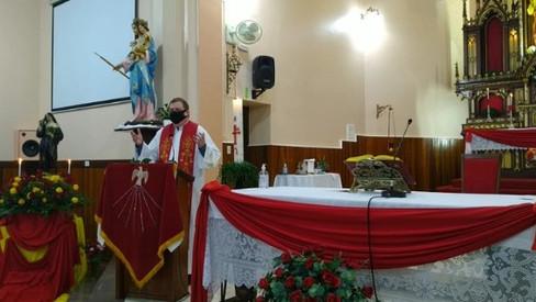Paróquia Sagrado Coração de Jesus celebra Santa Rita de Cássia