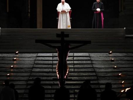 Recordações de uma oração que uniu o mundo