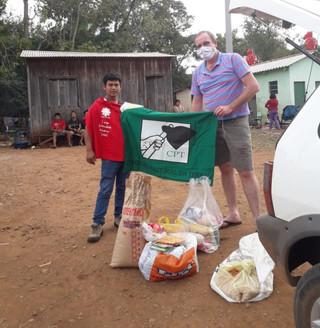 Aldeias indígenas recebem sementes crioulas pela CPT