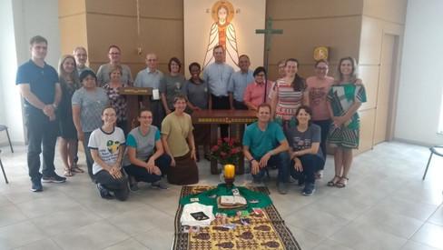 Pe. Aloísio Ruedell participa de curso de Espiritualidade