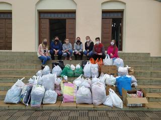 Pastoral da Juventude e Catequese arrecadam doações em Corpus Christi