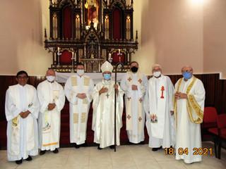 Paróquia Sagrado Coração de Jesus, de Santa Rosa, acolhe novo Pároco