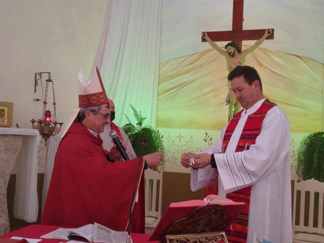 Paróquia Santa Lúcia acolhe novo Pároco
