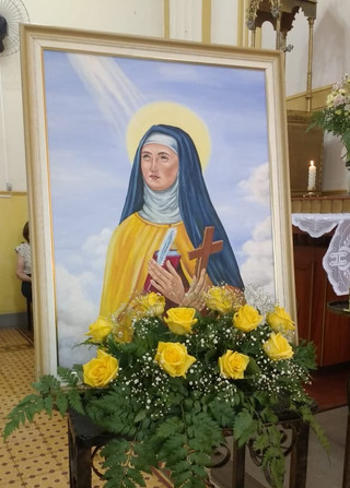 Paróquia Santa Teresa celebra sua padroeira