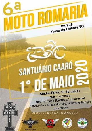 MOTO ROMARIA 2020 FOI CANCELADA