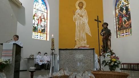 Paróquia São Roque celebra seu padroeiro