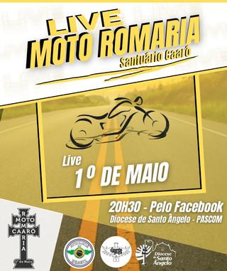 Live da Moto Romaria 2021