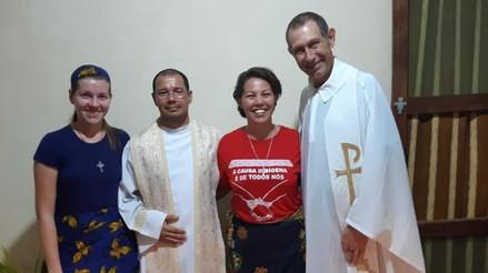 Pe. Luiz Weber, Missionário em Moçambique, partilha a realidade na Missão