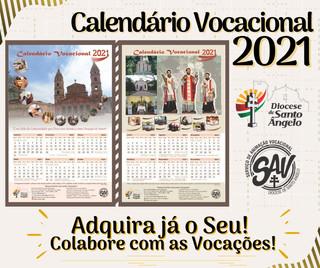 Calendário Vocacional 2021