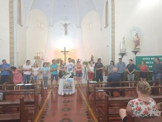 Paróquia Santo Lúcia de Caibaté e Mato Queimado elege nova coordenação paroquial