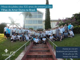 Irmãs Filhas do Amor Divino celebrarão o centenário de sua presença no Brasil