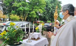 Dom Liro preside Missa de Corpus Christi em Guarani das Missões