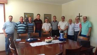 Comitiva dos Jesuítas visita a Diocese de Santo Ângelo para apresentar proposta de voltar a atuar na
