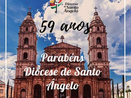 Diocese celebra 59 anos de criação