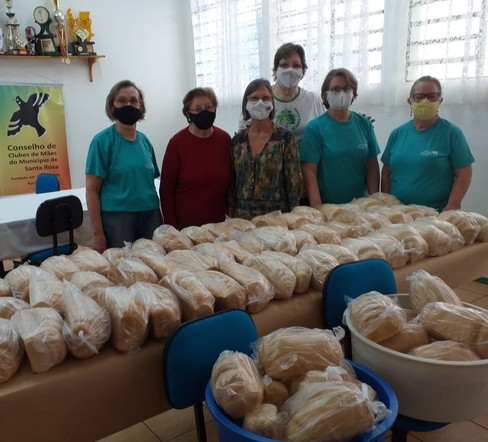 PACRI de Santa Rosa realiza distribuição de Pão Solidário
