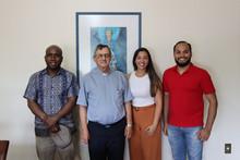 Coordenador Regional da Pastoral do Migrante visita a Diocese