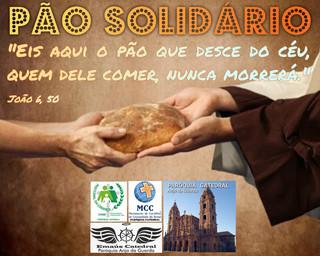 """MOVIMENTOS, PACRI E CATEDRAL REALIZAM PROJETO """"PÃO SOLIDÁRIO"""""""