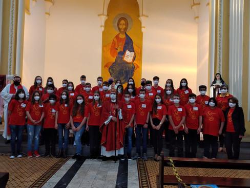 Dom Liro celebra Crismas em Guarani das Missões
