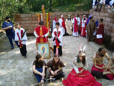 Santuário de Caaró acolhe Romaria Mirim