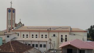 Paróquia de Giruá realiza instalação de energia solar