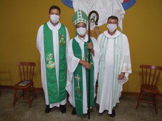 Pe. Volmir Tusset é empossado pároco de Dr. Maurício Cardoso