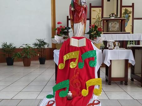 Paróquia Santa Cecília celebra 85 anos da primeira Missa em Alecrim