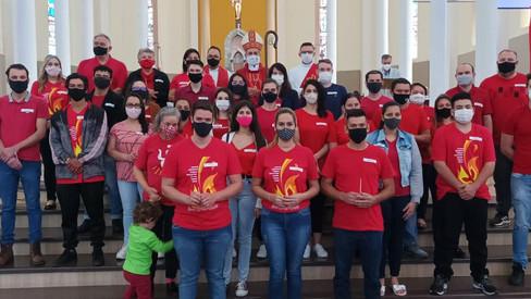 Dom Liro celebra Crismas em Três de Maio