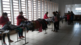 Pastoral da Saúde de Guarani das Missões realiza Bazar Solidário